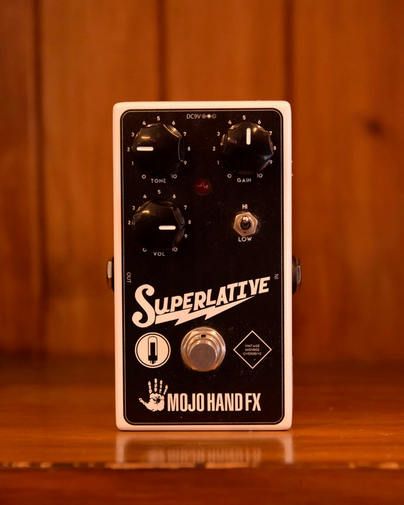 Mojo Hand FX Superlative Overdrive Pedal Pre-Owned