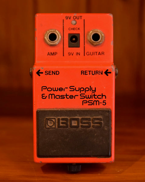 Boss BC-1X Power Supply and Master Switch PSM5 Pre-Owned