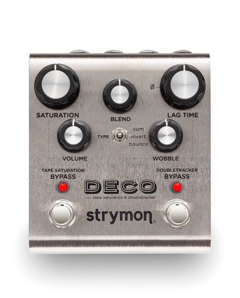 Strymon Deco Tape Saturation & Double Tracker Pedal