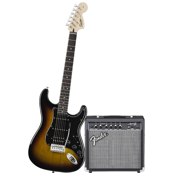 Squier Affinity Stratocaster HSS 15G Starter Package