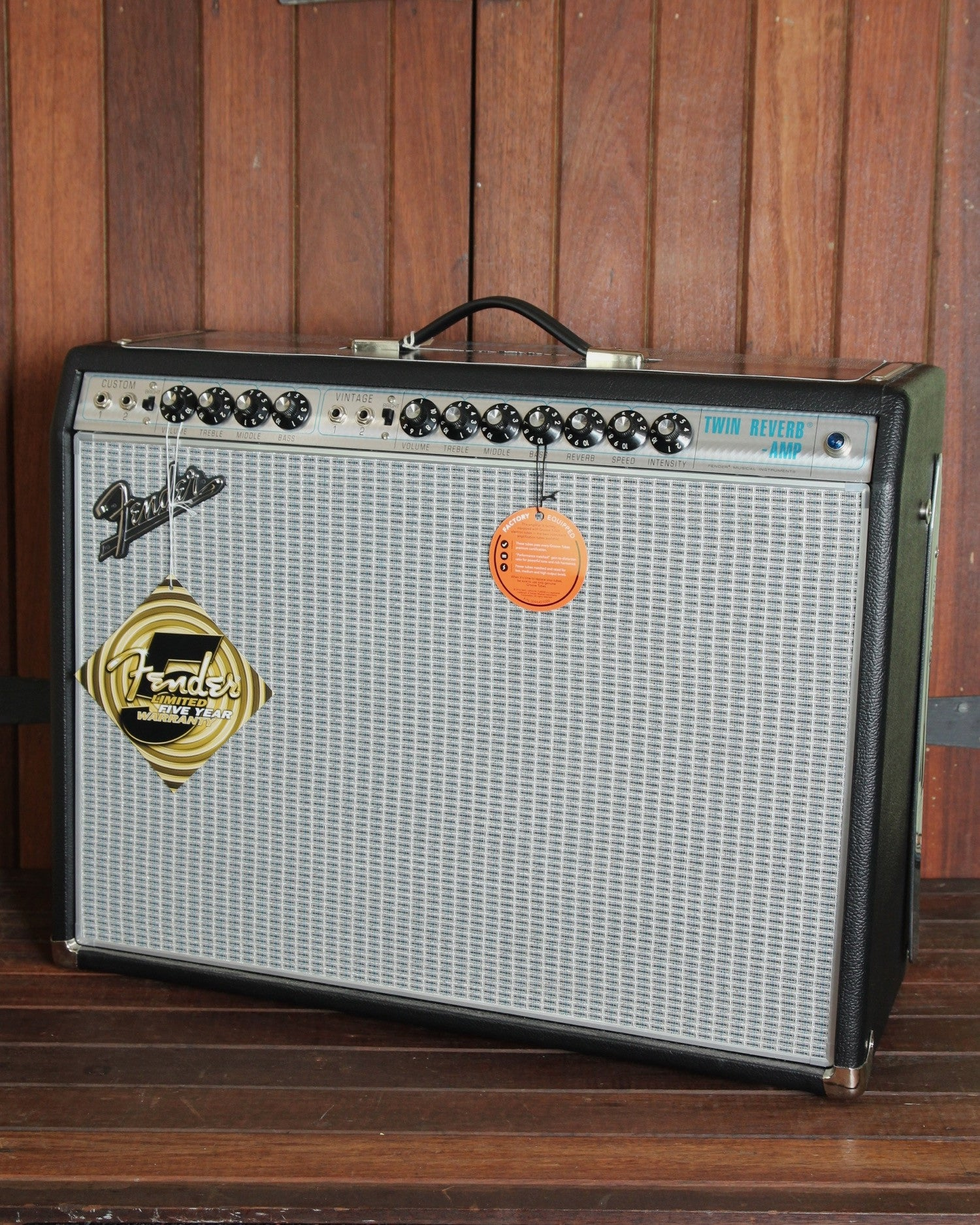Fender '68 Custom Twin Reverb Amplifier - The Rock Inn - 4