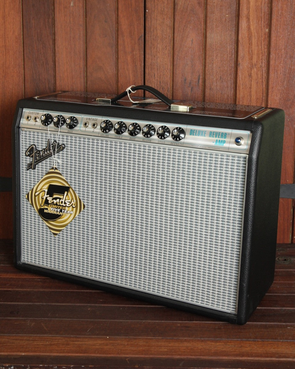 "Fender '68 Custom Deluxe Reverb 1x12"" 22w Valve Combo - The Rock Inn"