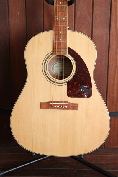 Epiphone AJ-220S Natural J-45 Studio Acoustic-Electric Guitar