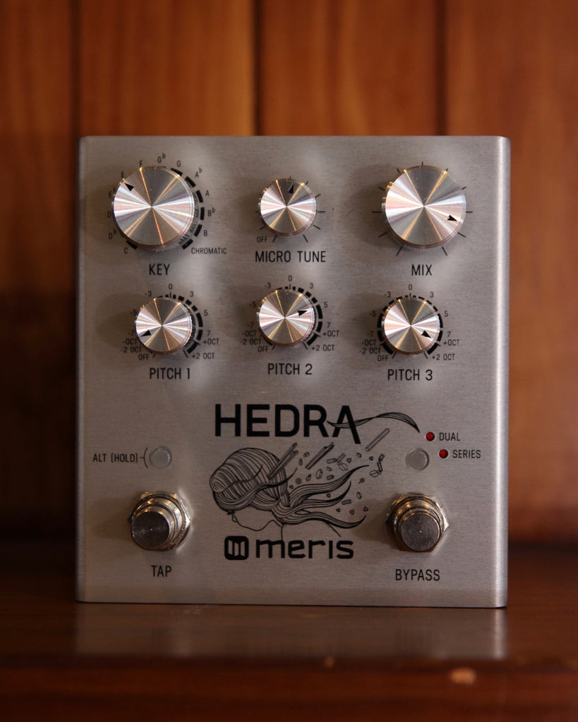 Meris Hedra Pitch Shifting Harmony Tap-Tempo Pedal