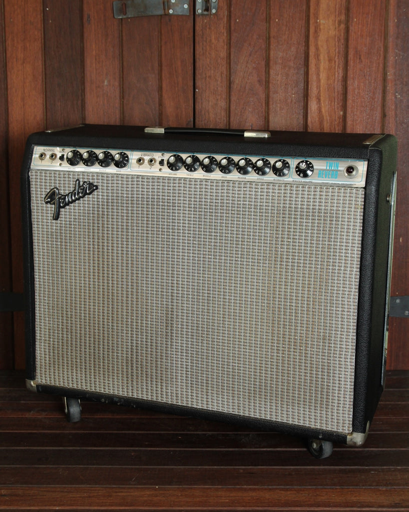 Fender Twin Reverb 1974 Model Vintage Valve Amplifier - The Rock Inn - 2