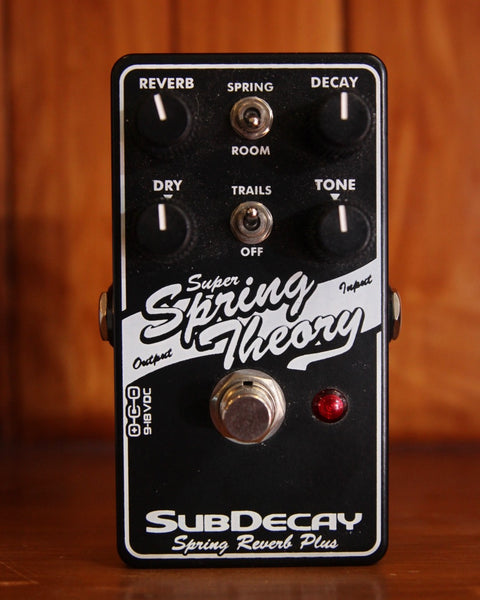 Subdecay Super String Theory Reverb Pedal Pre-Owned
