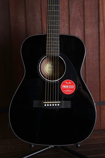 Fender CC-60S Solid Top Small Body Acoustic Guitar Starter Package