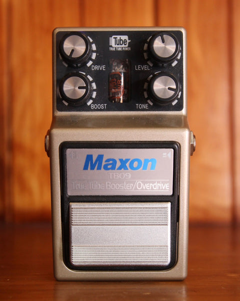 Maxon TB09 True Tube Booster-Overdrive Pedal Pre-Owned