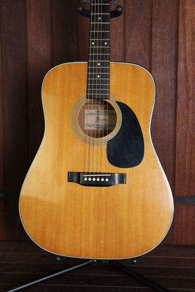 Fender F-35 Dreadnought Acoustic Vintage Japan Pre-Owned