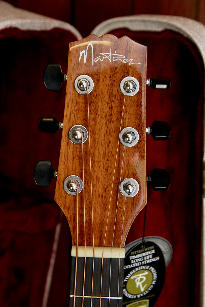 Martinez Southern Star Series Koa Solid Top Acoustic-Electric Small Body Cutaway Guitar