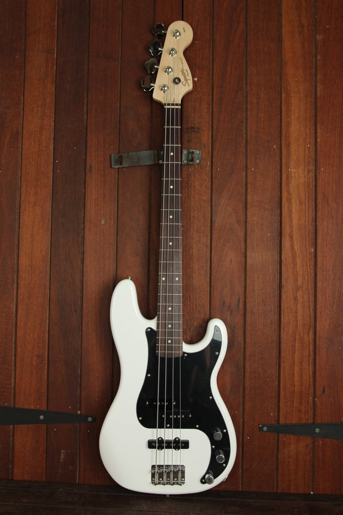 Squier Affinity Precision Bass PJ Candy Olympic White - The Rock Inn - 2