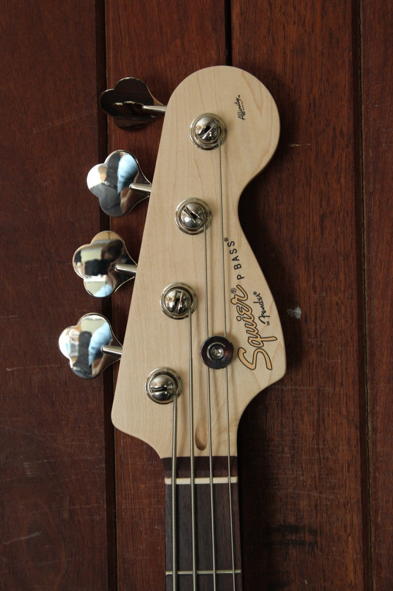 Squier Affinity Precision Bass PJ Olympic White - The Rock Inn