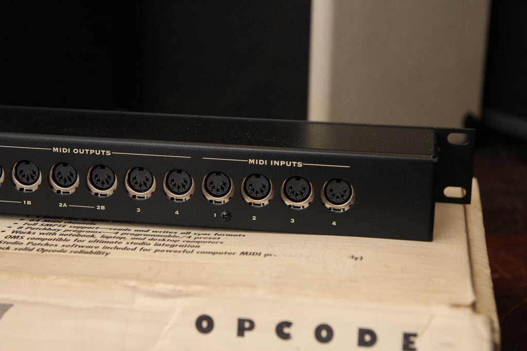 Opcode Studio 6X Midi Patchbay Interface Pre-Owned
