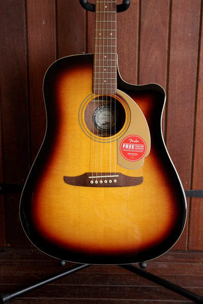 Fender California Player Redondo Acoustic-Electric Sunburst
