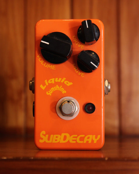 Subdecay Liquid Sunshine Overdrive Pedal Pre-Owned