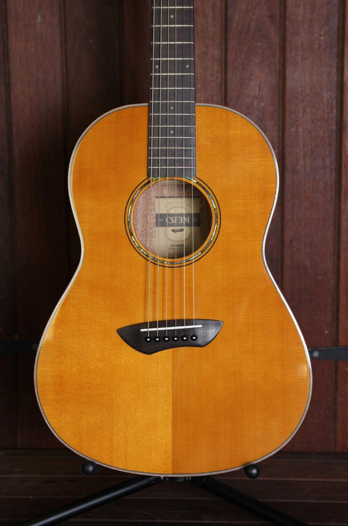Yamaha CSF3M All-Solid Small Body Travel Acoustic Guitar