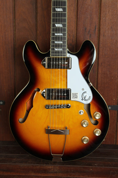 Epiphone Casino Coupe Hollowbody Electric Guitar Vintage Sunburst - The Rock Inn - 1
