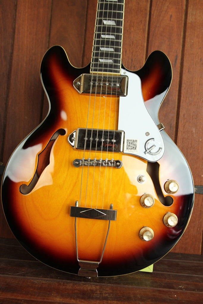 Epiphone Casino Coupe Hollowbody Electric Guitar Vintage Sunburst - The Rock Inn