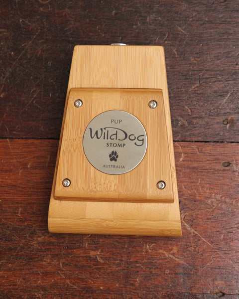 Wild Dog Pup Bamboo Small Size Timber Stompbox