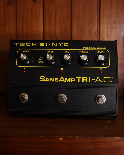 Tech 21 SansAmp Tri-A.C. Distortion Pedal Pre-Owned