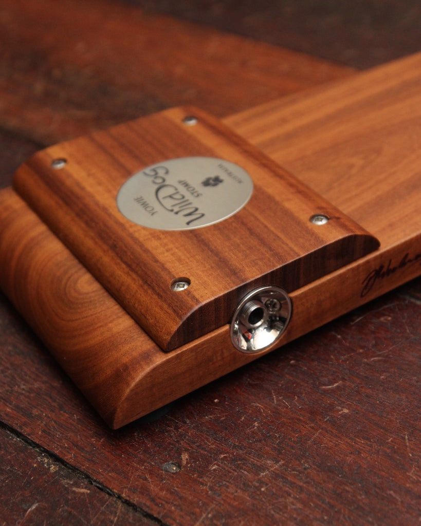 Wild Dog Yowie All Solid Deluxe Timber Stompbox
