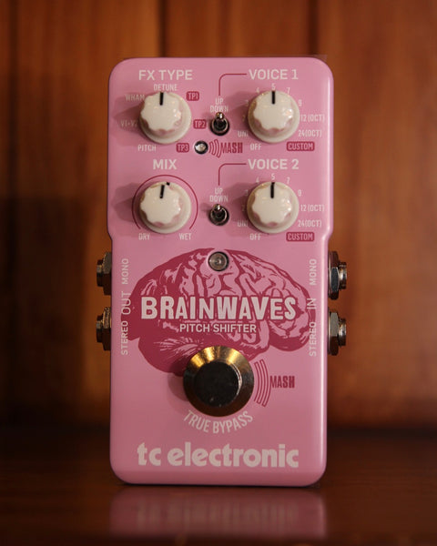 TC Electronic Brainwaves Pitch Shifter Pedal