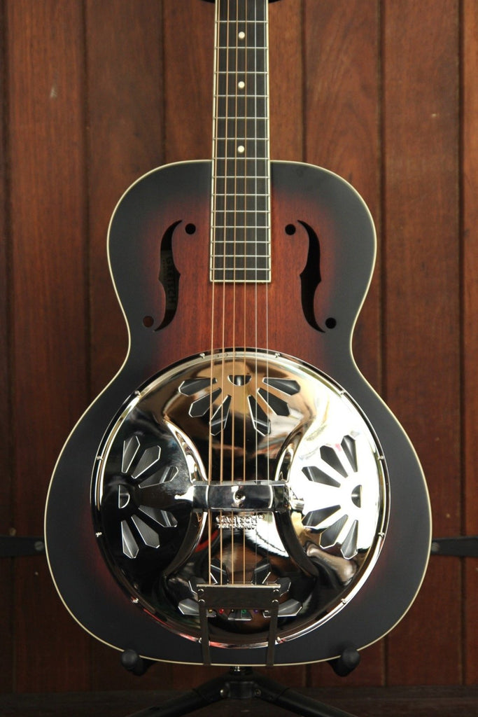 Gretsch G9220 Bobtail Deluxe Round Neck Resonator Acoustic-Electric