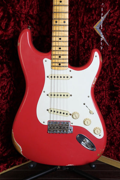 Fender Custom Shop Relic Fat 50s Stratocaster Summer Limited Edition - Fiesta Red