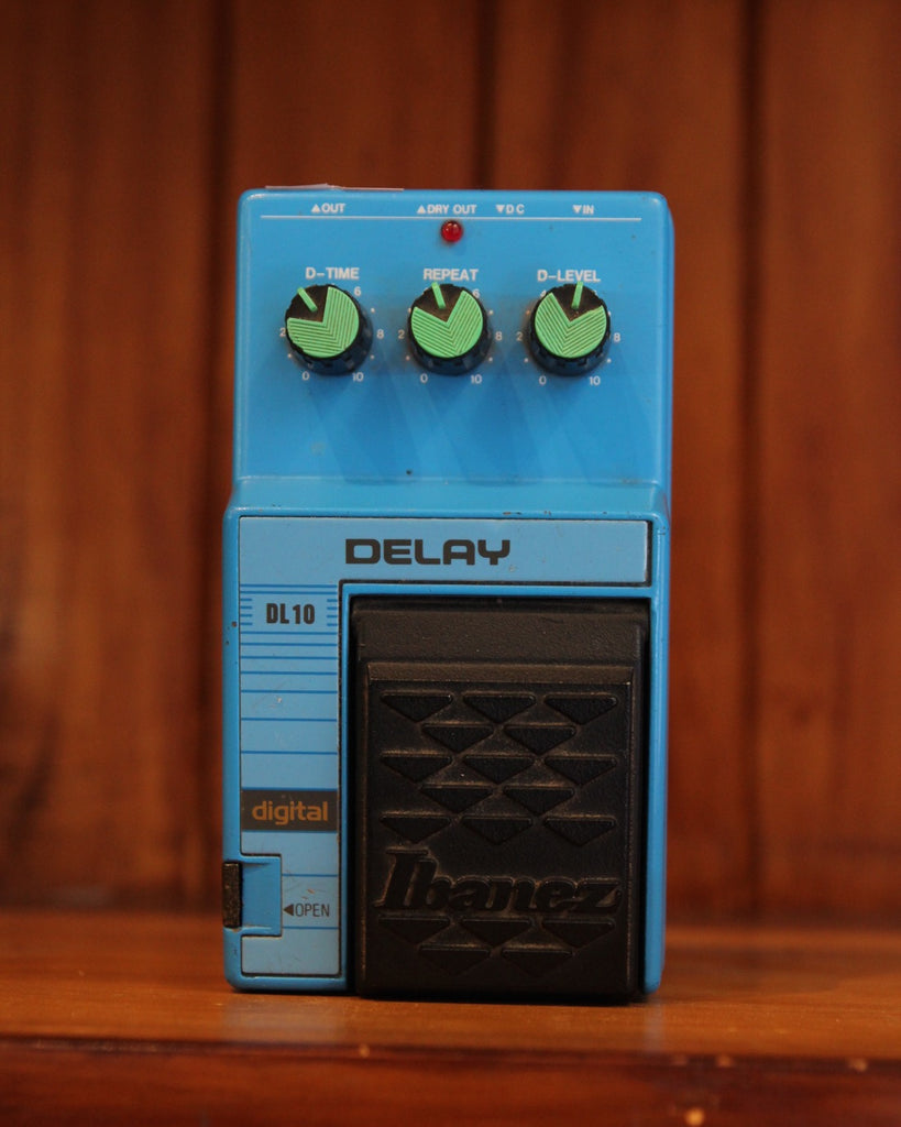 Ibanez DL10 Vintage Delay Pedal Made in Japan
