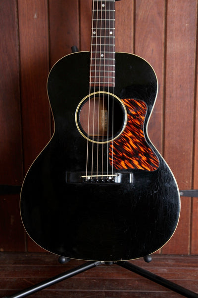 Gibson L-0 Ebony Black Small Body Acoustic 1930's Pre-Owned