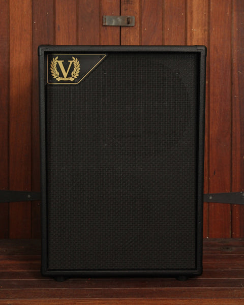 "Victory Amplification V212VH Black 2x12"" Vertical Speaker Cabinet"