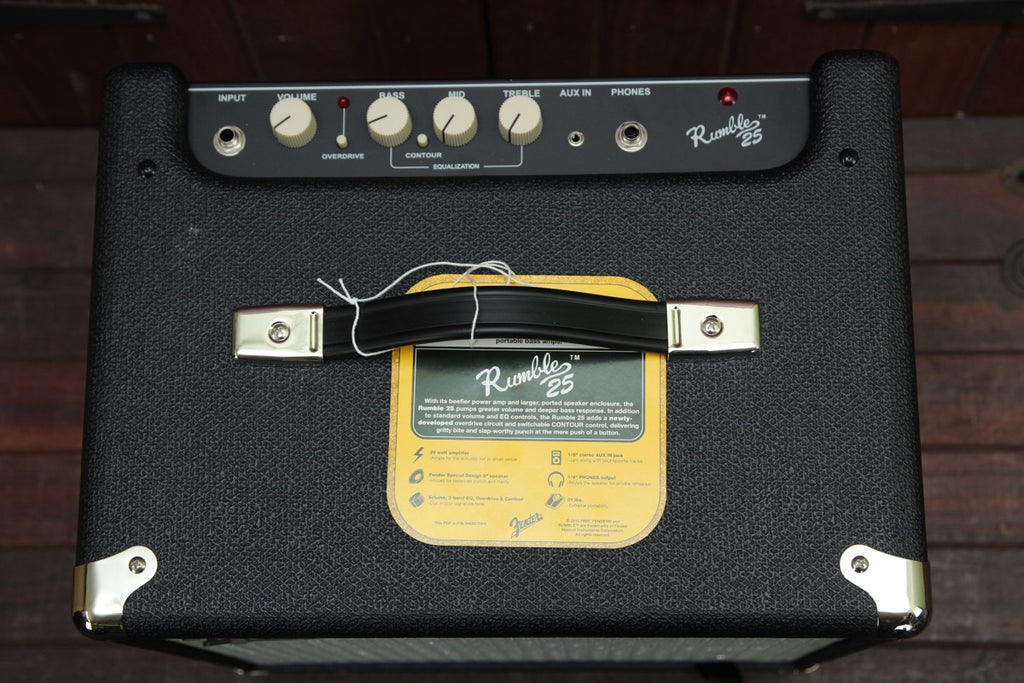 Fender Rumble 25 Bass Amplifier Combo