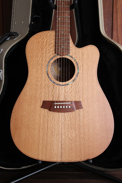 Cole Clark FL2EC SSO Solid Silky Oak Acoustic-Electric Guitar