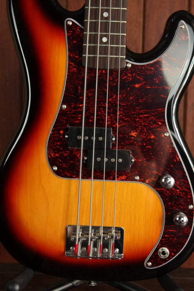 SX PB Bass 3/4 Size Solidbody Electric Bass Guitar - The Rock Inn