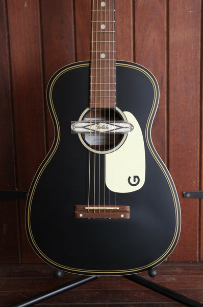 Gretsch G9520E Gin Rickey Acoustic/Electric with Soundhole Pickup Smokestack Black