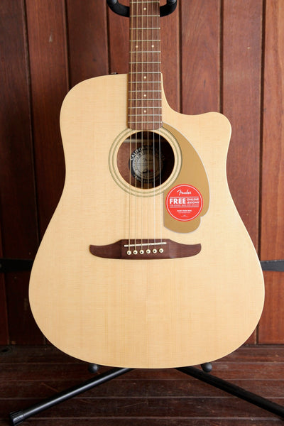 Fender California Player Redondo Acoustic-Electric Natural