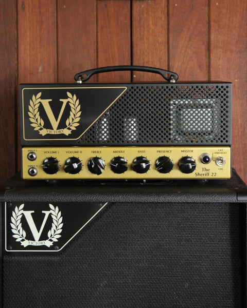 Victory Amplification Sheriff 22 Plexi Style Amp Head - The Rock Inn