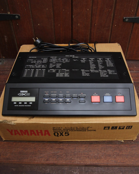 Yamaha QX5 Digital MIDI Sequencer (1986)