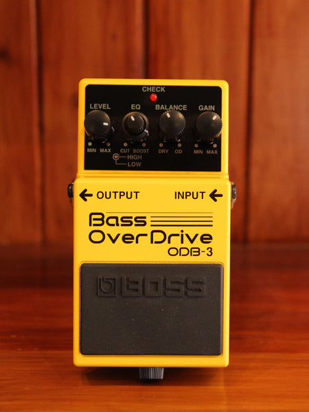 Boss ODB-3 Bass Overdrive Pedal - The Rock Inn