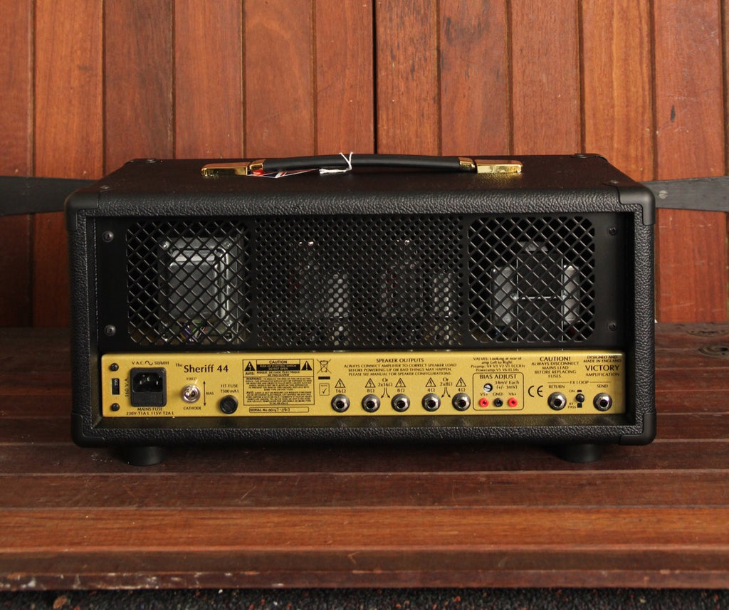Victory Amplification Sheriff 44 Plexi Style Amp Head