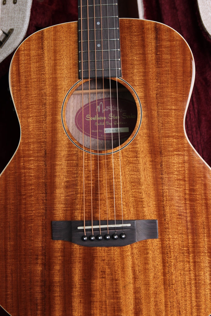 Martinez GS Style Koa Mini Acoustic MTT-8
