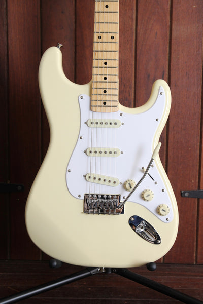 SX Vintage Style Electric Guitar White with Bag