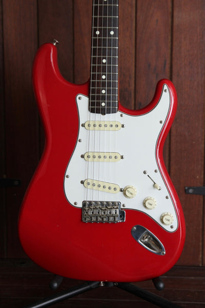 Squier JV Stratocaster 1984-87 Dakota Red Vintage Made in Japan