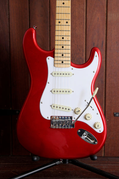 SX Vintage Style Electric Guitar Candy Apple Red with Bag