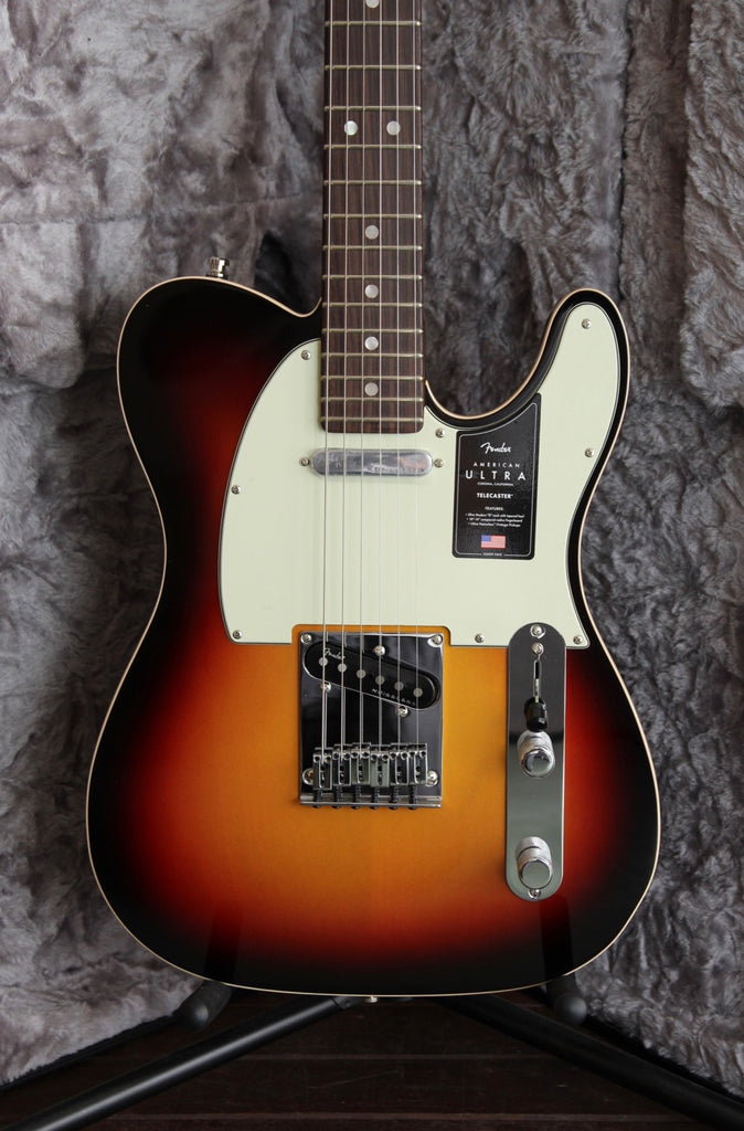Fender American Ultra Telecaster Ultraburst Electric Guitar