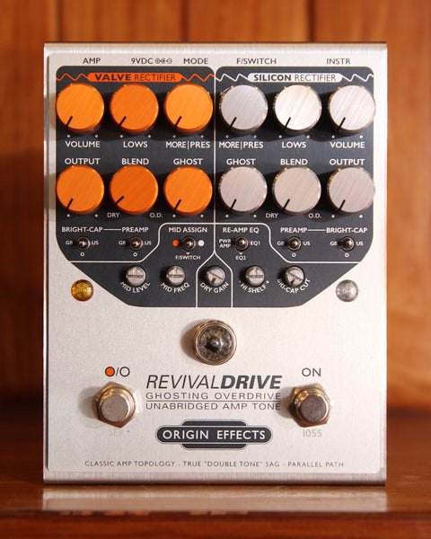 Origin Effects Revival Drive Overdrive/Distortion Pedal