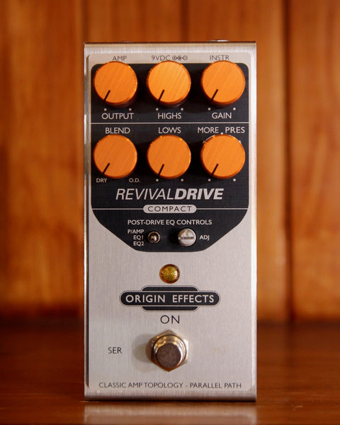 Origin Effects Revival Drive Compact Overdrive/Distortion Pedal