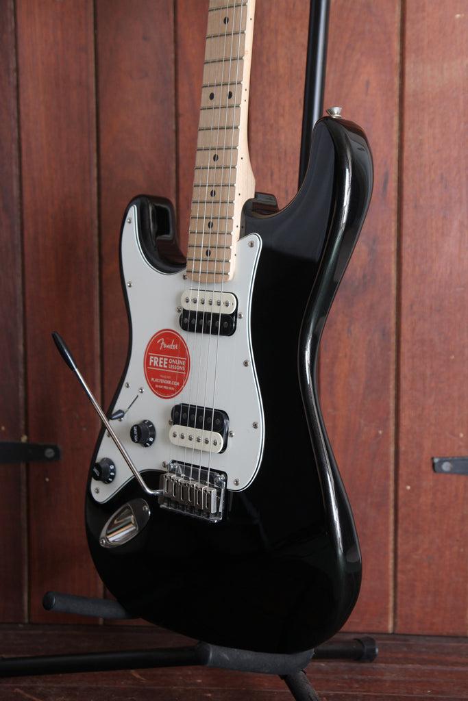 Left Handed Squier Contemporary Stratocaster HHS Black