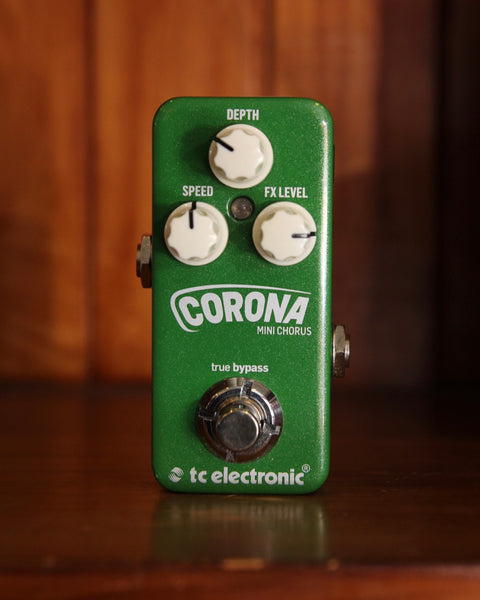 TC Electronic Mini Corona Chorus Pedal Pre-Owned