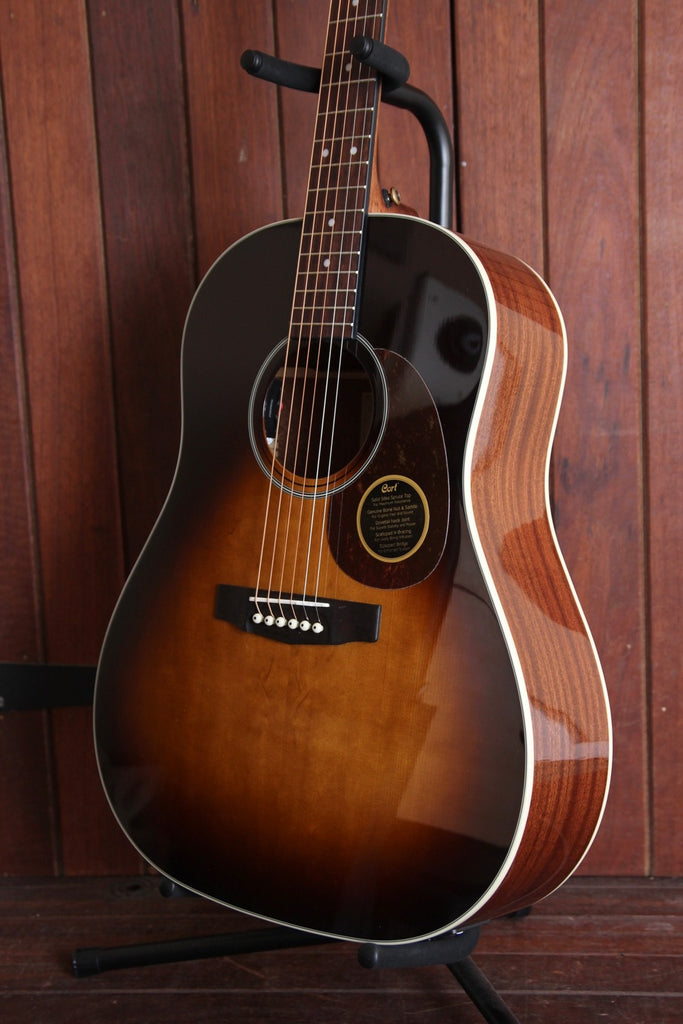 Cort Earth 100SSF Slope Shoulder Dreadnought Acoustic Guitar